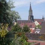 Ulm, Baden-Württemberg, DeutschlandBlick von Wilhelmshöhe auf Münster