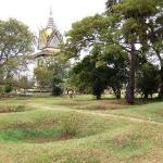 Mass graves at the Killing Fields