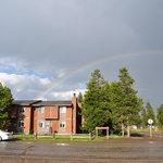 Condo with Rainbow