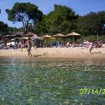 One of the many fab beaches on Skiathos