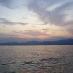 Garda Sun Set