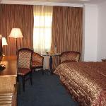 sinle room at Hotel Bristol, Amman, Jordan