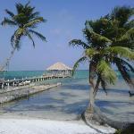 Beautiful scenery sitting from Ak Bol beach area