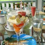 朝ごはんのフルーツ