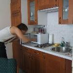 room - zona cucina