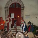 ambiance médievale dans Montflanquin