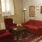 relaxing corner of room