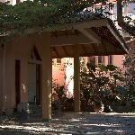 Eingang zur Villa Rosa