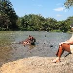 am grossen Fluss in kandy