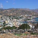 View of Elounda from Elounda Heights
