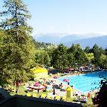 Blick über den Pool
