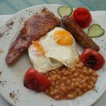 Full english breakfasts here are delicious =D