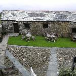 Courtyard view from The Grey Room