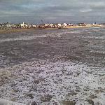 pier view,very windy
