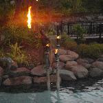 Daily firelighting ceremony