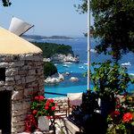 View from the Bella Vista Taverna