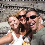 Great time at the Colosseum with Jason!