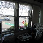 Sitting room of the Gov Bradford Suite (looking out to the harbour)