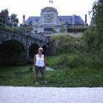 walk near the zoo/canal