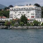 Grand Hôtel Majestic vue depuis le Lac Majeur