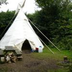 Our Tipi (number 11 - just of Top Village Field)