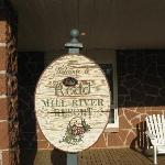 Rodd Mill River - Welcome sign