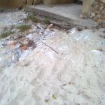The step onto the beach