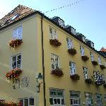Hotel visto dall'esterno