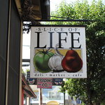 Slice of Life sign
