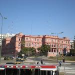 Casa Rosada.  Aregentine Presidential Palace.