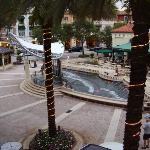 View from the balcony of City Place mall in downtown West Palm Beach