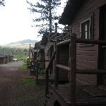 The cabins early morning