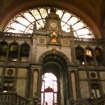Inside of the train station