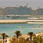 Jumeirah beach, view from pavilion