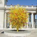 Dale Chihuly's Sun at the de Young