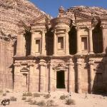 The Monastery which is at the opposite end of Petra from the entrance. A very long hike.