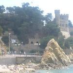 castle in lloret de mar...