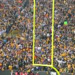 2007 Packers / Vikings (We are somewhere in the middle of this picture) 34-0 & A. Peterson broke