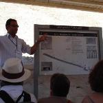 Yasser, our tour guide, don't think he'd run out of things to say about Egyptology if he talked