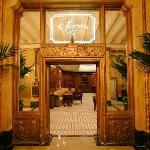 Sazerac Bar entrance from the Roosevelt Lobby