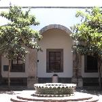 Courtyard in Hospicio Cabanas