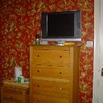 the room, nice telly.