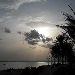 Puesta de sol en Hammamet
