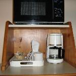 Microwave & Coffee area