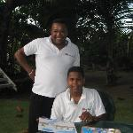 chef arsenio and son