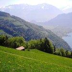 Hiking from Beatenberg to Interlaken