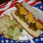 free hotdog