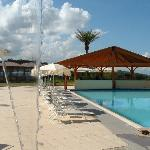 area bar e piscina