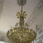 Hermitage - This candelier weighs one tonne