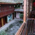 view from balcony of ensuite room
